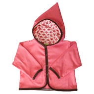 Kiwi:  Pink Lotus Hooded Jacket