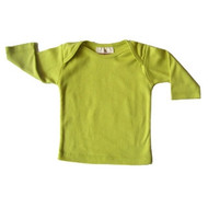 Speesees:  Organic Long Sleeve Tee in Pollen Yellow