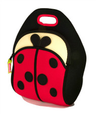 Dabbawalla Bags:  Ladybug Lunch Bag