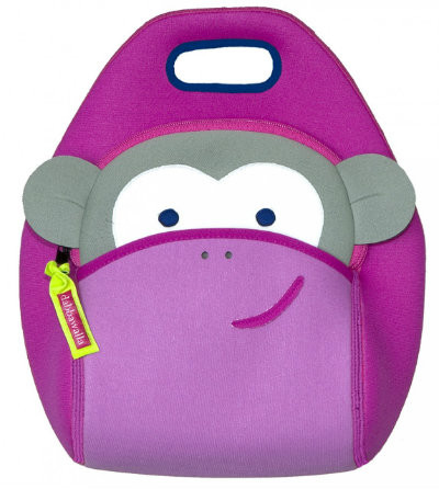 Dabbawalla Bags:  Pink Monkey Lunch Bag