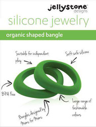 Jellystone silicone bangle jewelry, one per package