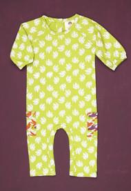 Kate Quinn Organics:  Pocket Jumpsuit in Hydrangea