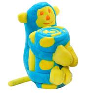 Elegant Baby:  Blanket with Monkey Softie