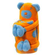 Elegant Baby:  Blanket with Bear Softie
