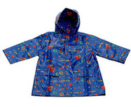 Pluie Pluie:  Rocket Raincoat, Lined