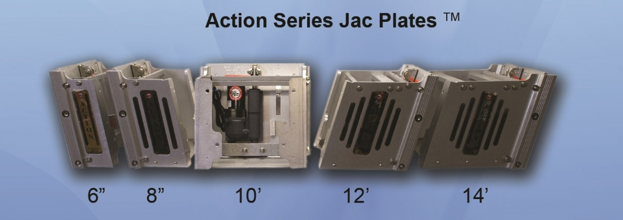 Bobs action jack series 6 jack plate watch product videos for Action craft boat parts
