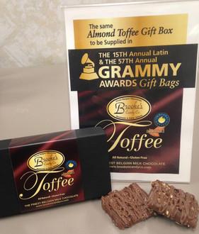 2-oz. Old English Almond Toffee Grammy Box