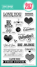 "Our Lots of Love 4"" x 6"" clear photopolymer stamp set is perfect for Project Life projects,making cards or scrapbook pages your favorite Valentine.  The fresh sentiments in this set are sure to be used time and again."