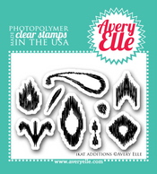 "Our 2"" x 3"" Ikat Additions clear photopolymer stamp set may be mini in size, but it packs a lot of punch.  This set allows stampers to create even more Ikat patterns when used alone or with the coordinating Ikat clear photopolymer stamp set."