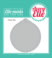 Die: Circle Tag Elle-ments