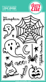 Boo Clear Stamps