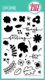 Fabulous Florals Clear Stamps