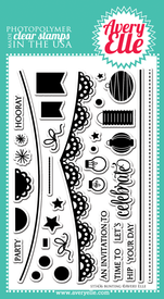 Bunting Clear Stamp Set