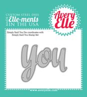 Simply Said You Elle-ments Die Set