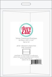 A2 Translucent Vellum Envelopes