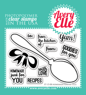 Clear Stamps - Homemade by Avery Elle