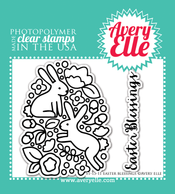 Clear Stamps - Easter Blessings by Avery Elle