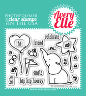 Clear Stamps - Ellie by Avery Elle Inc.