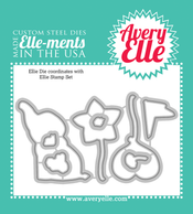 Custom Steel Dies - Ellie by Avery Elle Inc.