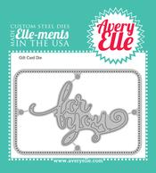 Custom Steel Die - Gift Card by Avery Elle Inc.