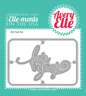 Custom Steel Die - Gift Card by Avery Elle Inc.