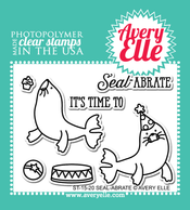 ST-15-20 Seal-abrate clear stamps