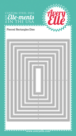 Pierced Rectangle craft dies