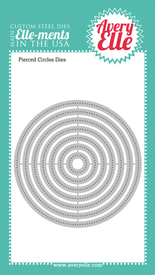 Pierced Circles craft dies