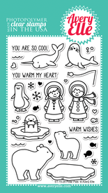 Polar Pals Clear Stamps