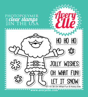 Oh What Fun Clear Stamps