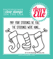 Stockings Clear Stamps