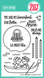 Dreamboat clear stamps