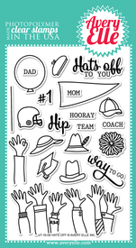 Hats Off Clear Stamps