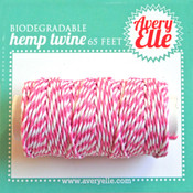 Raspberry Hemp Twine