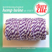 Sugar Plum Hemp Twine