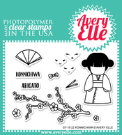 Konnichiwa Clear Stamps