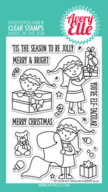 Avery Elle Elf-tacular Clear Stamps