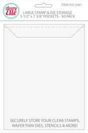 Large Stamp and Craft Die Storage Pockets
