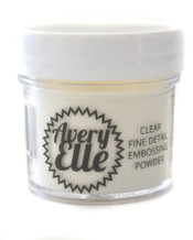 Clear Fine Detail Embossing Powder