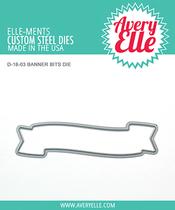 Avery Elle Banner Bits Dies