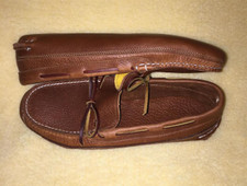'Ole Maine Comfort Classic-Double Sole -Unlined-Honey