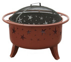 Landmann Patio Lights Starlight Fire Pit Georgia Clay - 23151
