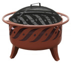 Landmann Patio Lights Firewave Fire Pit Georgia Clay - 23171