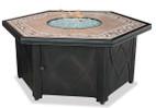 Blue Rhino Uniflame Propane Fire Pit Table - Decorative Tile Mantel - GAD1380SP