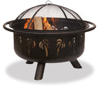 Blue Rhino UniFlame Oil Rubbed Bronze/Black Outdoor Fire Pit - WAD850SP