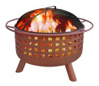 Landmann City Lights Fire Pit and Cooking Grate - 26313