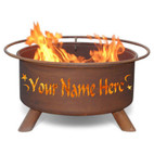 Personalized Custom Fire Pit -F199