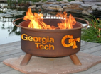 Patina Products - Georgia Tech College Fire Pit - F212