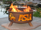 Patina Products - Arizona State ASU College Fire Pit - F213
