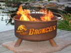 Patina Products - Boise State University College Fire Pit - F234